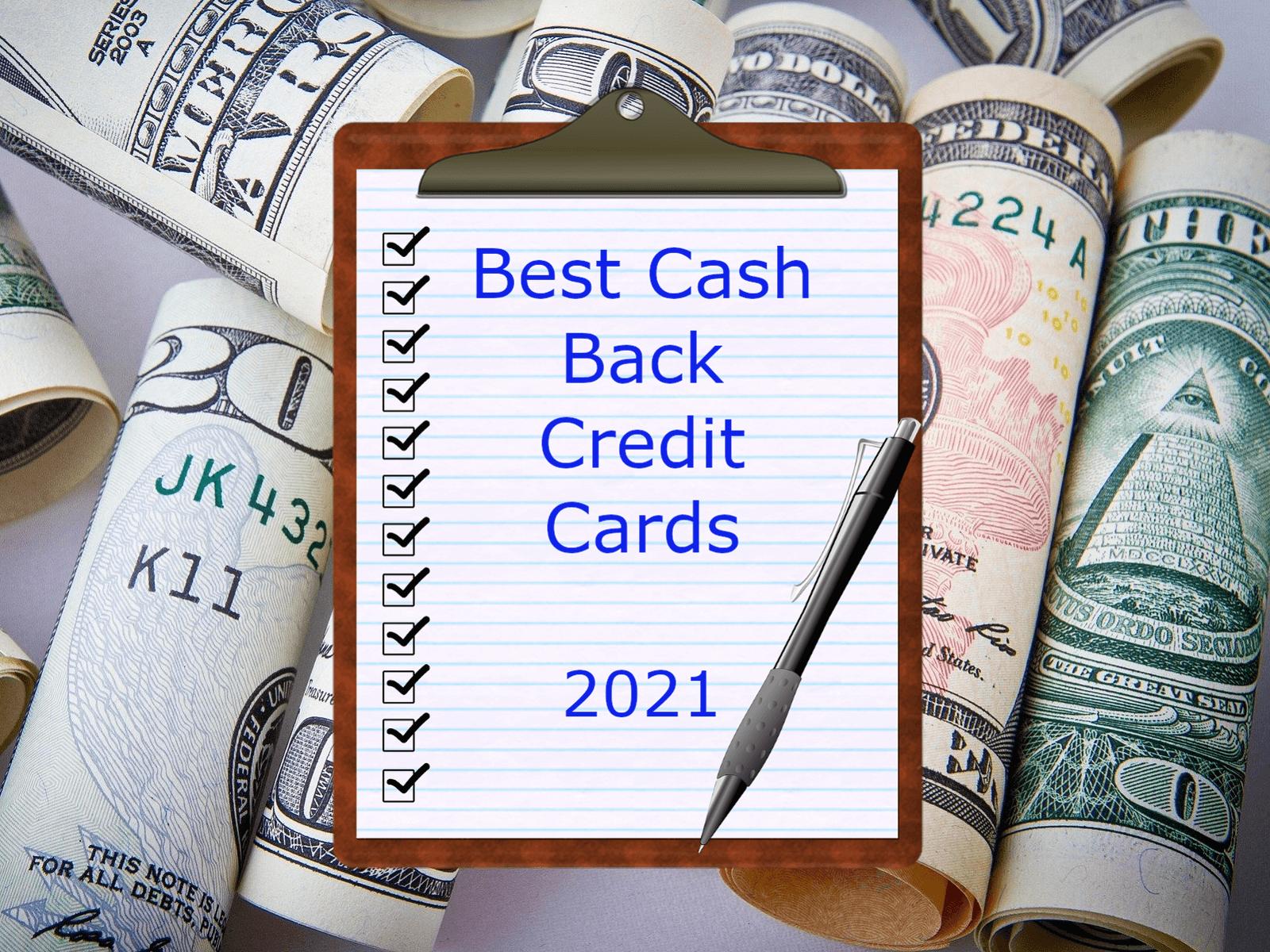 Best Cash Back Credit Cards (2021) - Top Travel on Points